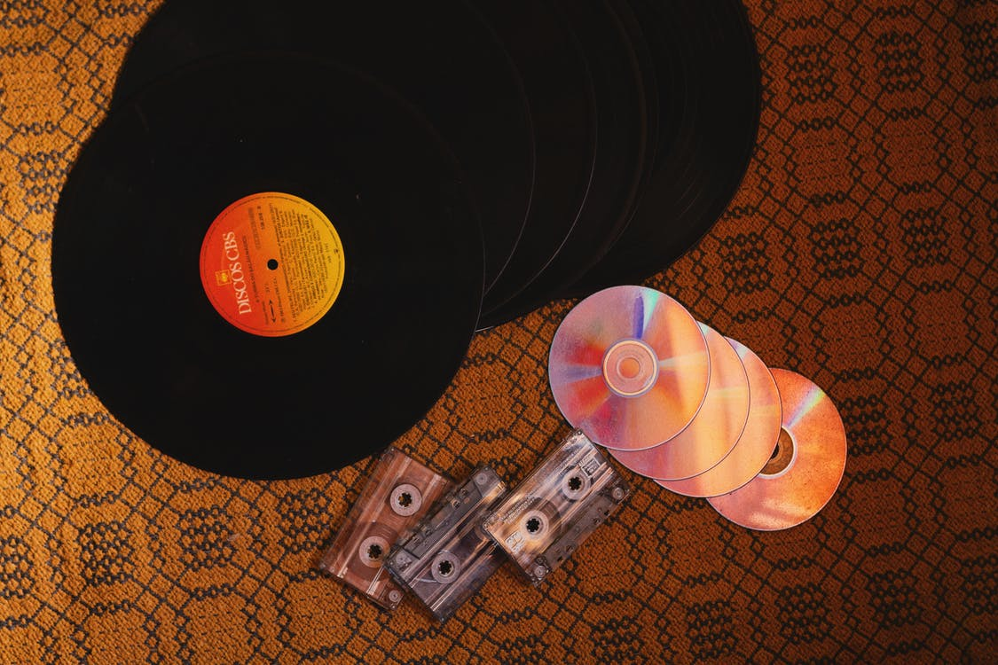 Fotos de stock gratuitas de casete, CD, cds