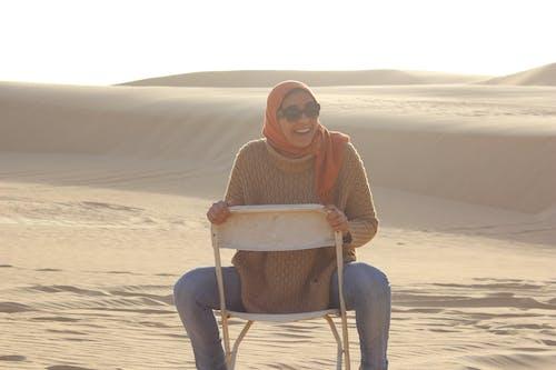Kostenloses Stock Foto zu eine farbe, glück, wüste