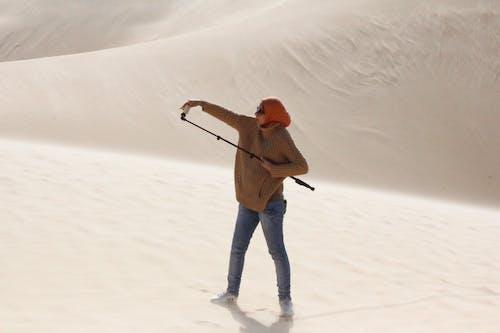 Kostenloses Stock Foto zu selfi, wüste
