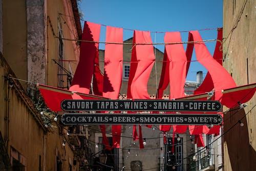 Foto stok gratis bangunan, bendera, jelajahi, kain