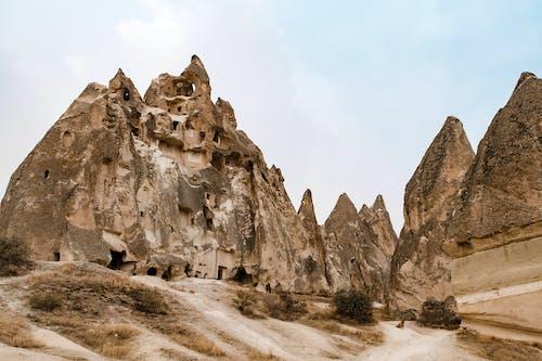 內夫謝希爾, 卡帕多西亞, 卡帕多西亞土耳其, 古老的 的 免費圖庫相片