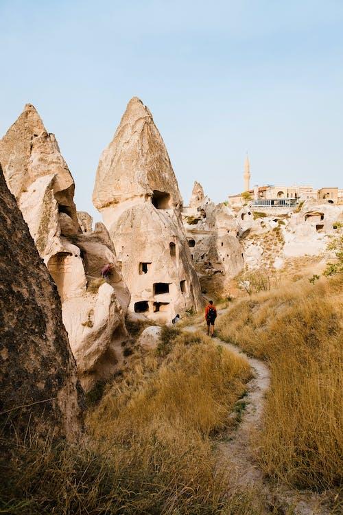 Бесплатное стоковое фото с архитектура, гора, дорога, древний