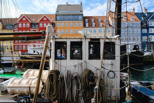 açık hava, alet kulübesi, binalar, Danimarka içeren Ücretsiz stok fotoğraf