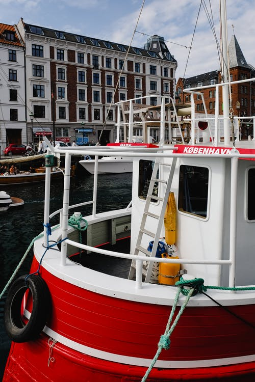 Fotobanka sbezplatnými fotkami na tému Dánsko, Kodaň, loď