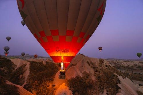 Foto profissional grátis de aeronave, alvorecer, amanhecer, ao ar livre