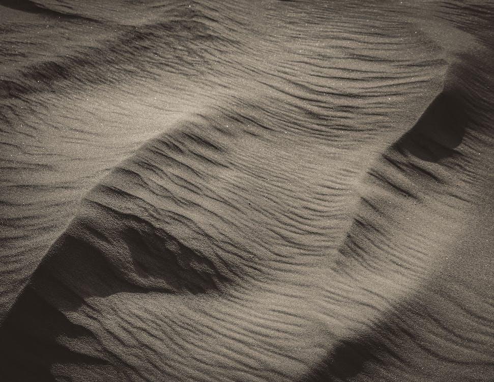 aerial viewof sand
