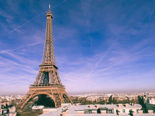 abide, bina, eiffel kulesi, görülecek yer içeren Ücretsiz stok fotoğraf