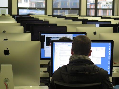 Foto d'estoc gratuïta de adult, assegut, aula, classe