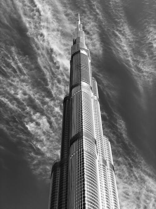 Ingyenes stockfotó alacsony szögű felvétel, alacsony szögű fényképezés, építészet, épület témában