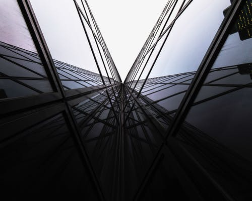 Free stock photo of architecture, building, glass, glass building