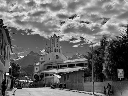 シティ, シティストリート, ペルー, ワラスの無料の写真素材