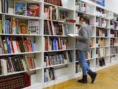 books, girl, school