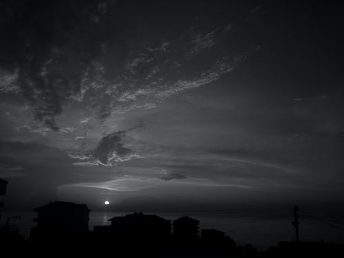 Free stock photo of air, ash cloud, azure, black