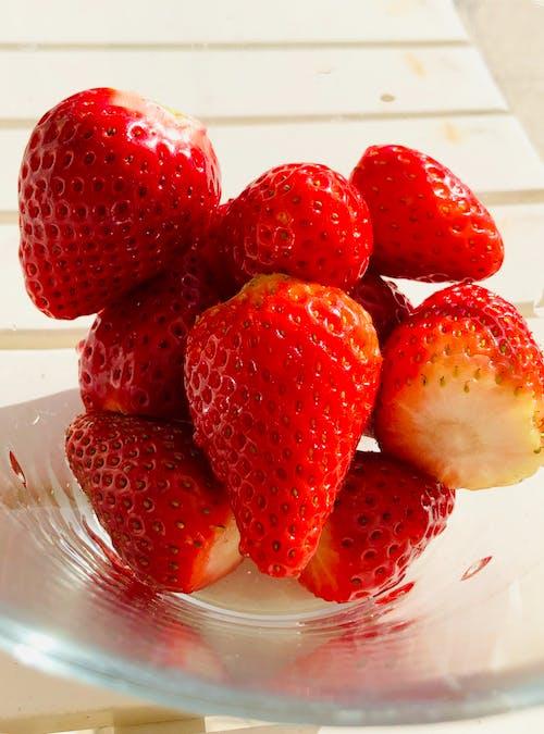 Imagine de stoc gratuită din căpșuni, fructe proaspete, roșu