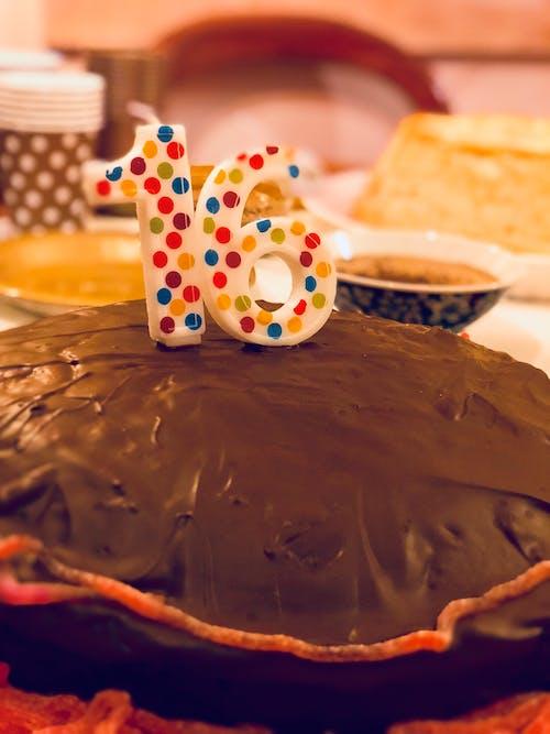 Imagine de stoc gratuită din 16, familie, petrecere, tort