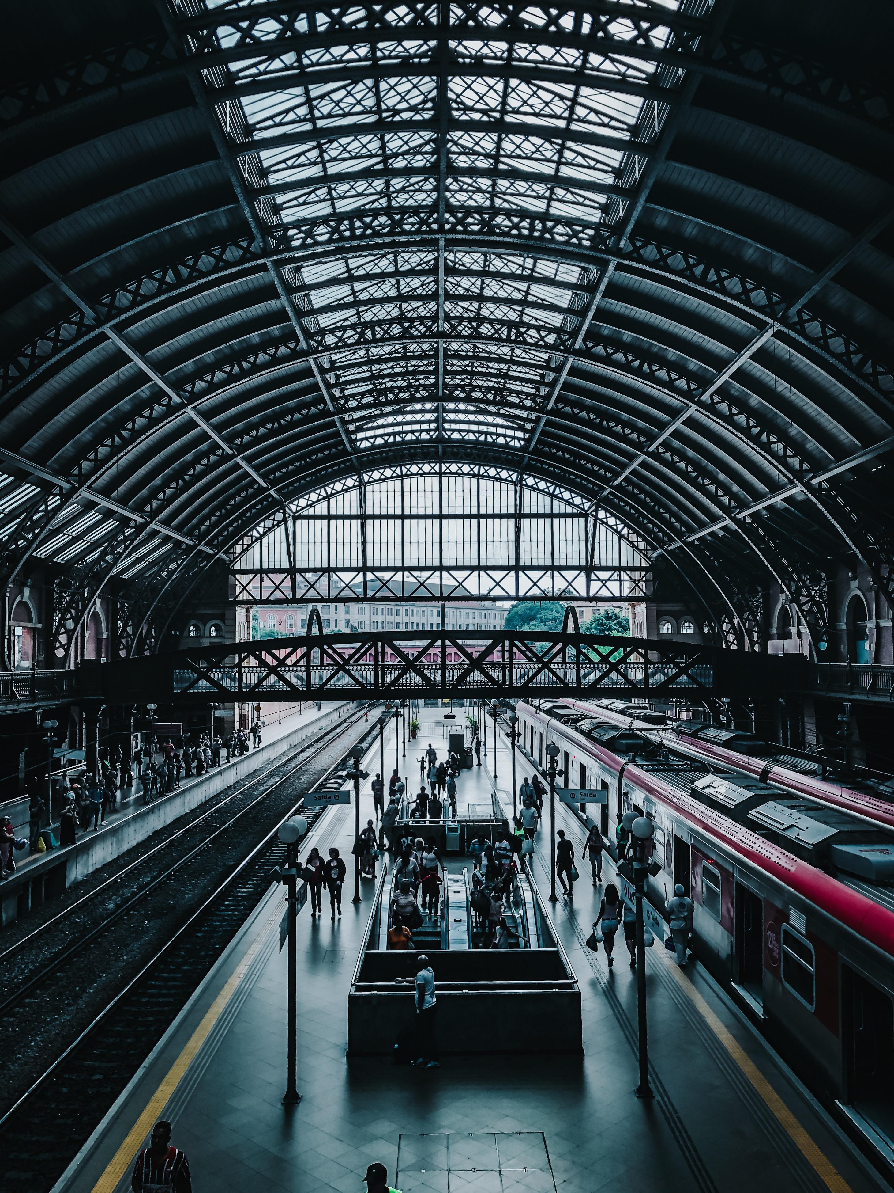 People Inside Train Station