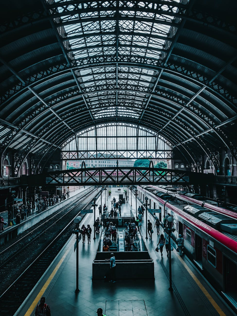 Lokasi Jemput / Pick Up Point Ojek Online di Stasiun Surabaya Gubeng