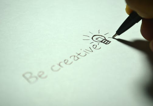 Creativity of a freelance writer