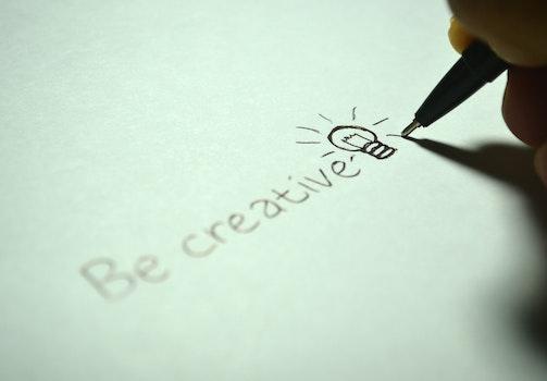 Kostenloses Stock Foto zu kreativ, hand, stift, schreiben