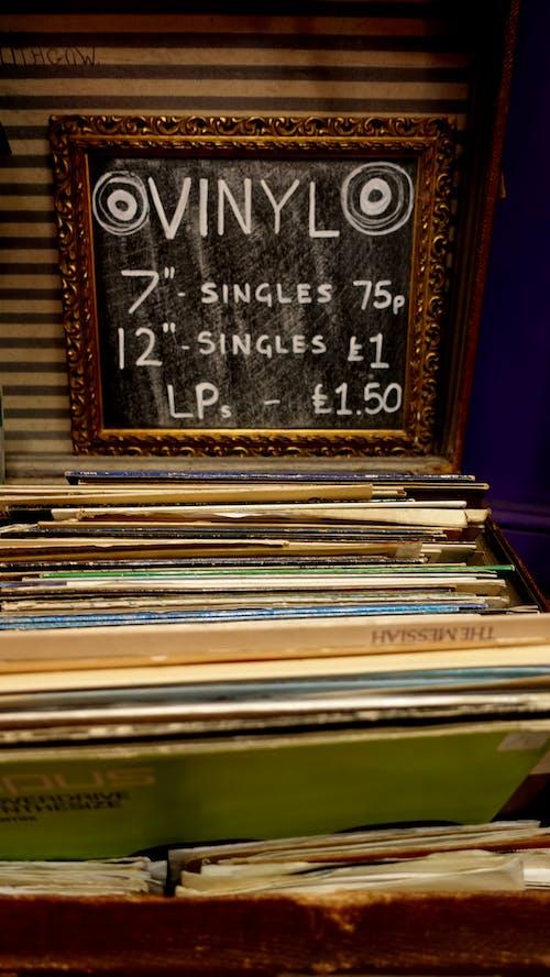 Gratis stockfoto met 45, grammofoonplaat, lp, singles