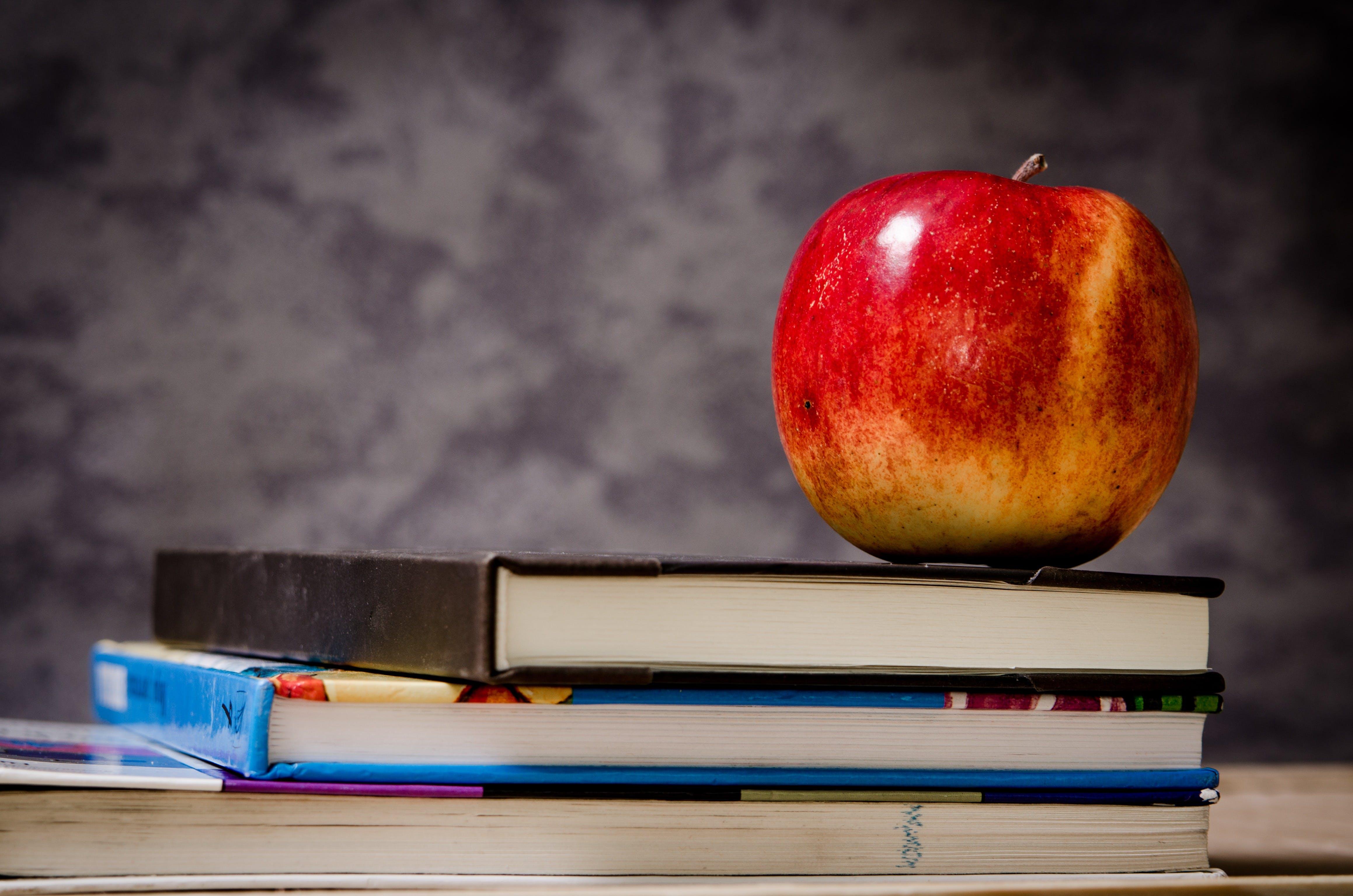 apple, asetelma, college