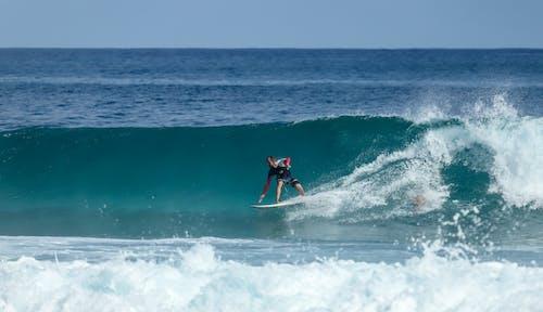 Безкоштовне стокове фото на тему «surfrider, surfs, бетонна поверхня, дошка для серфінгу»