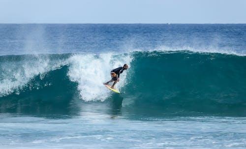 Δωρεάν στοκ φωτογραφιών με Surf, surfrider, surfs, γνέφω
