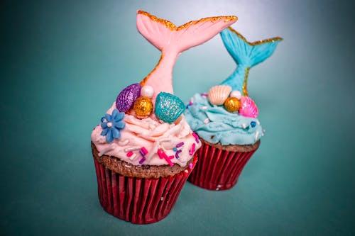 cupcake'ler, fotoğraf çekimi, kekler, lezzetli içeren Ücretsiz stok fotoğraf