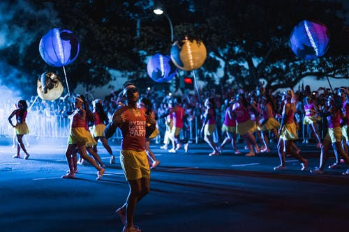 Gratis lagerfoto af aften, bevægelse, dans, fejring