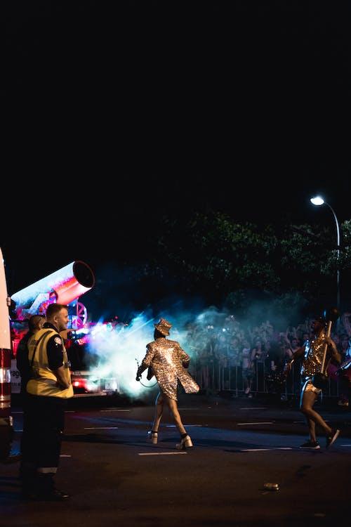 Kostenloses Stock Foto zu abend, aufführung, band, beleuchtung
