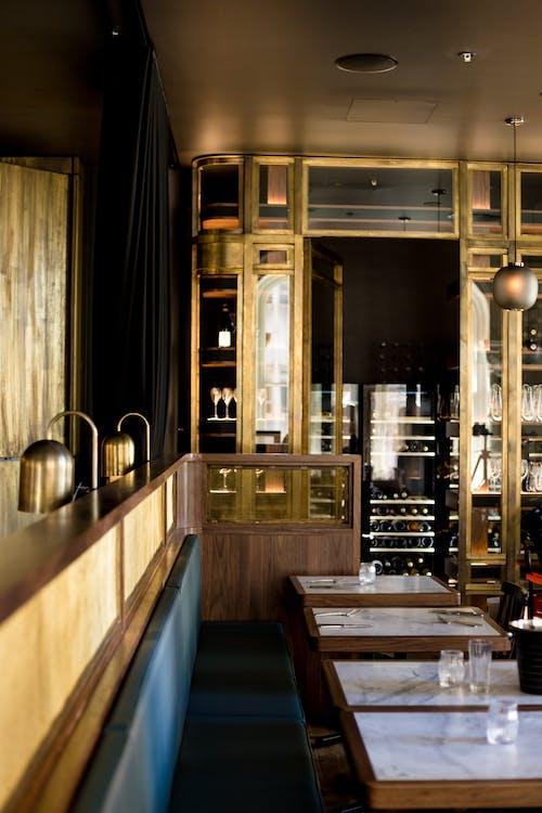 arquitectura, bar, barra