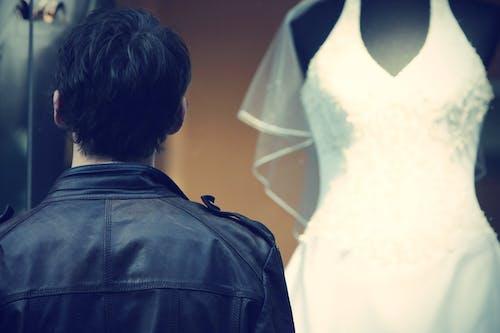 Ảnh lưu trữ miễn phí về ánh sáng, áo khoác bằng da, Chân dung, cô dâu