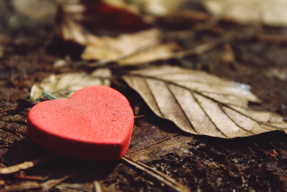 Close up of heart shape