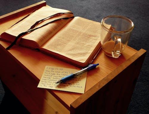 Free stock photo of bible, bible study, coffee, morning