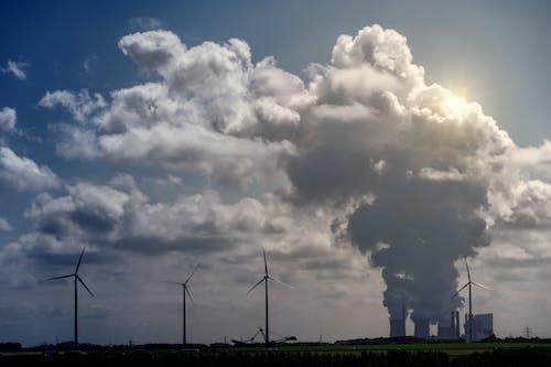 Ảnh lưu trữ miễn phí về cối xay gió, mây tích, năng lượng, những đám mây