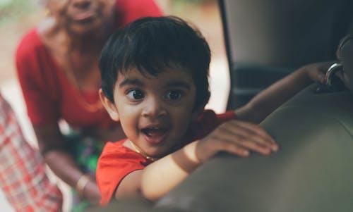 Imagine de stoc gratuită din 1 an, adorabil, baby car, copilul în mașină