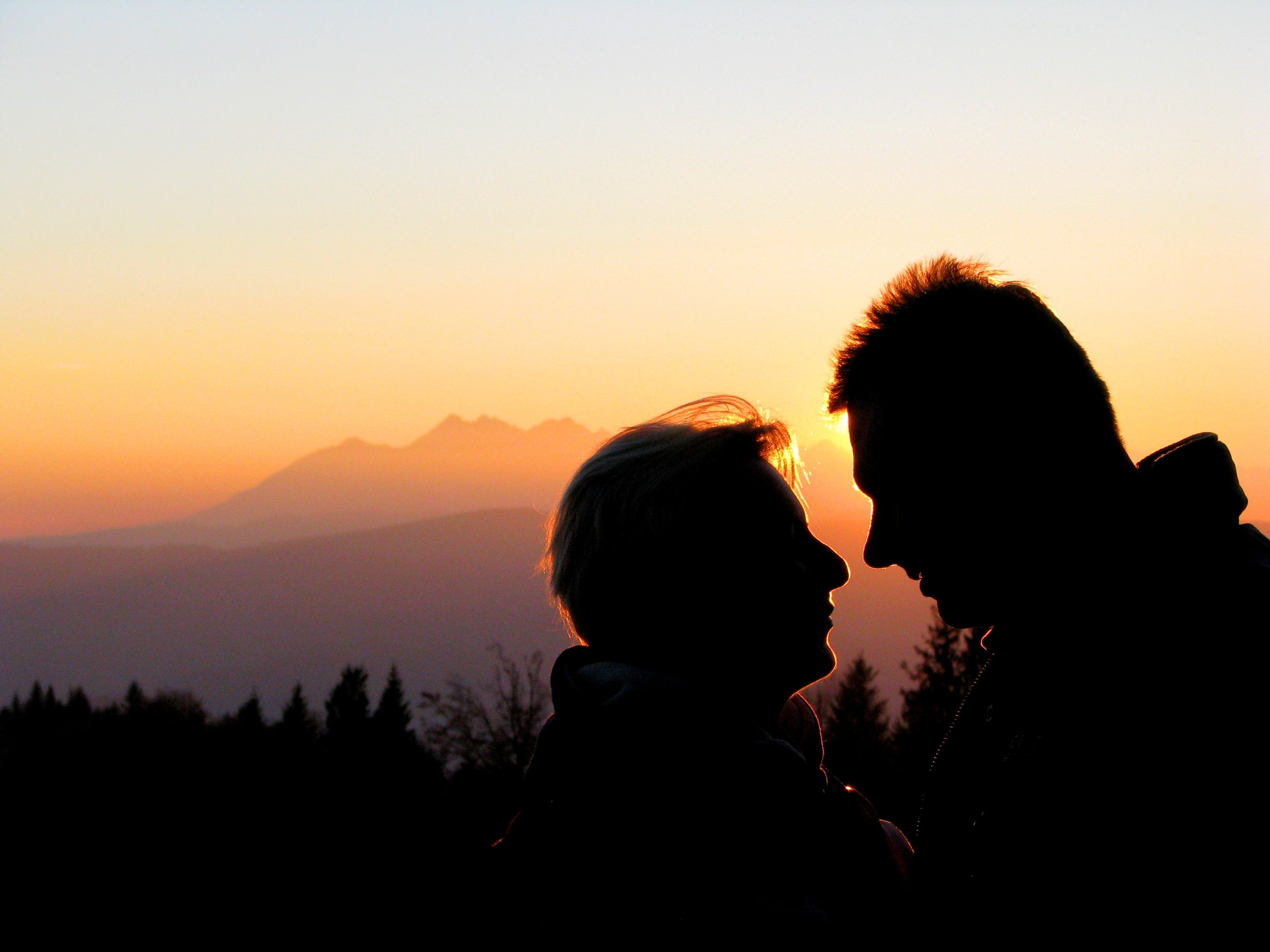 Foto stok gratis backlit, cahaya, cinta, Fajar