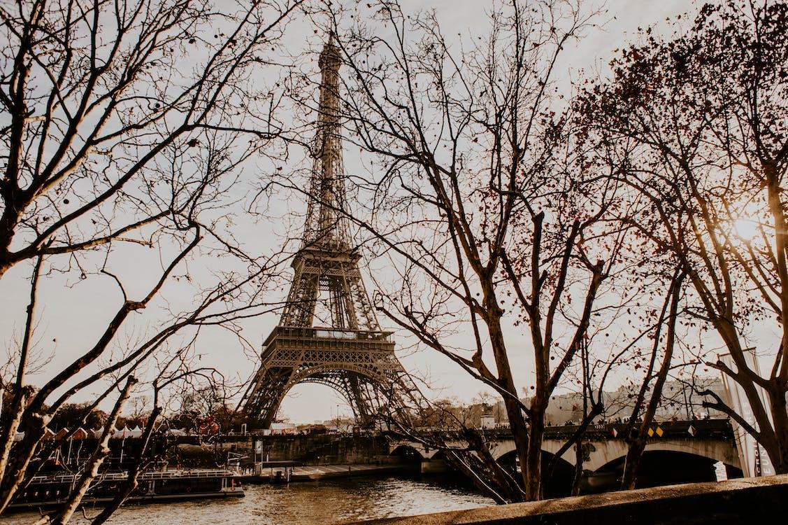 Tall Eiffel Tower