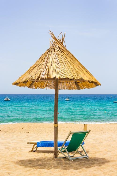 Brown Beach Umbrella