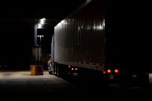Foto profissional grátis de América, atrasado, bomba, caminhão