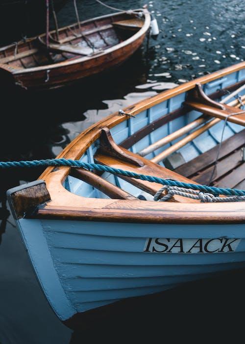 Kostnadsfri bild av båt, båtrep, två, vattenkropp