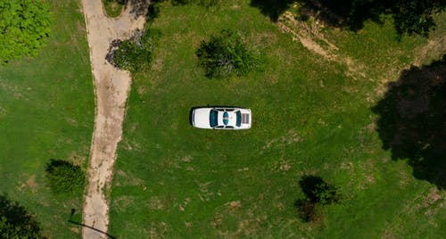Top View Photo Of Car During Daytime