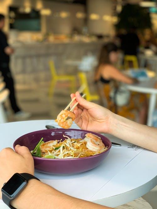 Foto profissional grátis de alimento, almoço, Asiático, borrão