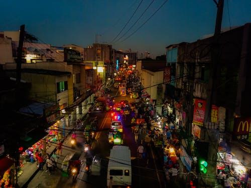 Free stock photo of city, streets
