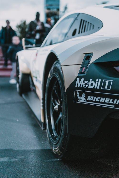 akcia, asfalt, auto