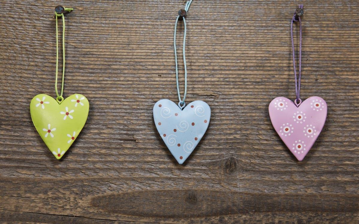 amor, copas, corações