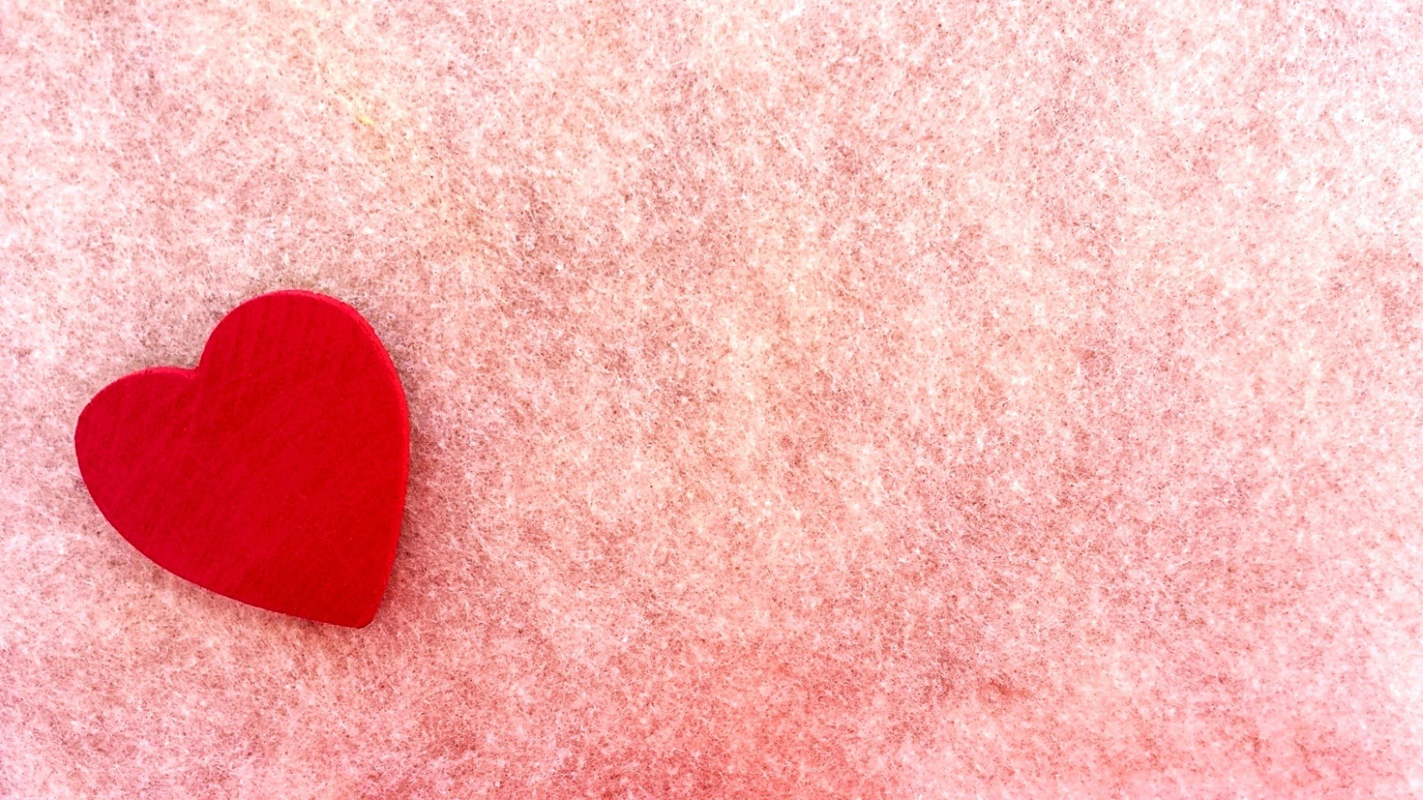 Close-up of Heart Shape Pink