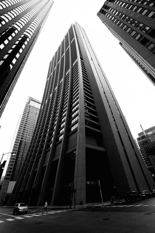 Monochrome Photography of Buildings