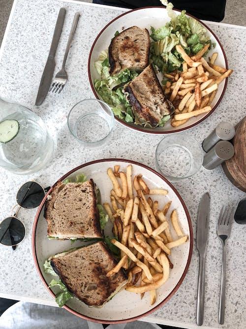 Δωρεάν στοκ φωτογραφιών με yummy, αποχρώσεις, ασημικά, γεύμα
