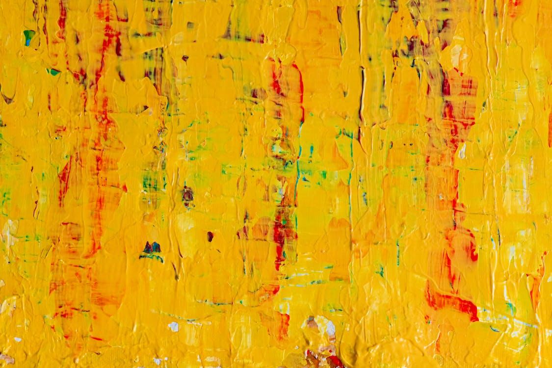 abstrait, aquarelle, art